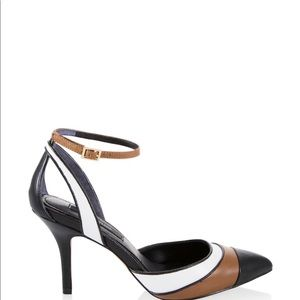 BRAND NEW WHBM COLORBLOCK PUMPS
